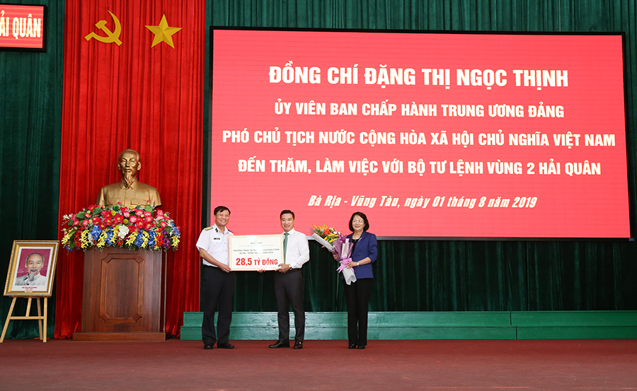 Hung Thinh Corp sponsors vnd 28.5 billion for sea and island program in 2 provinces of Ba Ria - Vung Tau and Khanh Hoa