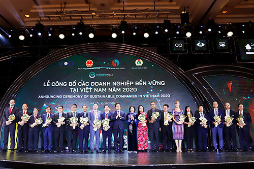 HUNG THINH CORPORATION ENTERS TOP 10 SUSTAINABLE ENTERPRISES IN VIETNAM 2020