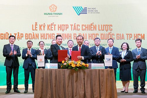 HUNG THINH CORPORATION AND VIETNAM NATIONAL UNIVERSITY - HO CHI MINH CITY SIGN STRATEGIC COOPERATION