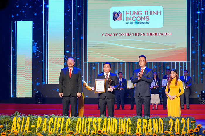 HUNG THINH INCONS CONTINUOUSLY RECEIVES BIG AWARDS AT ANNOUNCEMENT CEREMONY OF ASIA-PACIFIC'S TYPICAL BRAND 2021